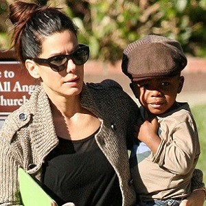 Sandra Bullock Single Parent